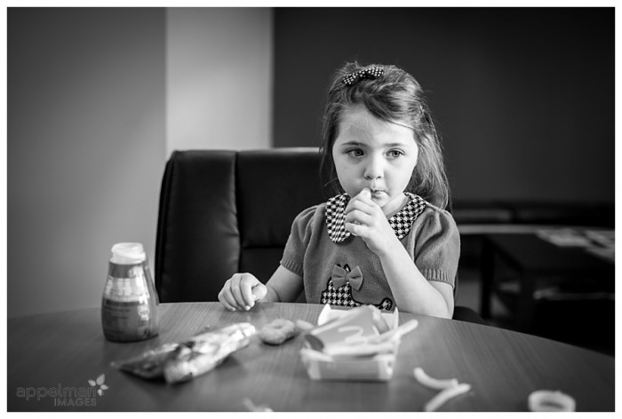Little girl and Lipgloss in Naperville Lifestyle documentary style photographic portrait 138-365 2014