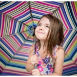 Best Naperville Family Photographer Little Girl and her umbrella portrait 170-365 2014