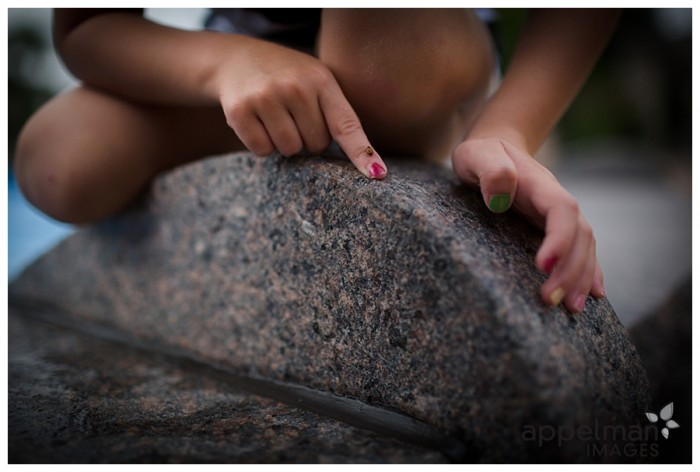 Lady Bug Tiny Bug on Child Finger found and saved from Fountain Naperville Park Lifestyle Photographer 236-365 2014