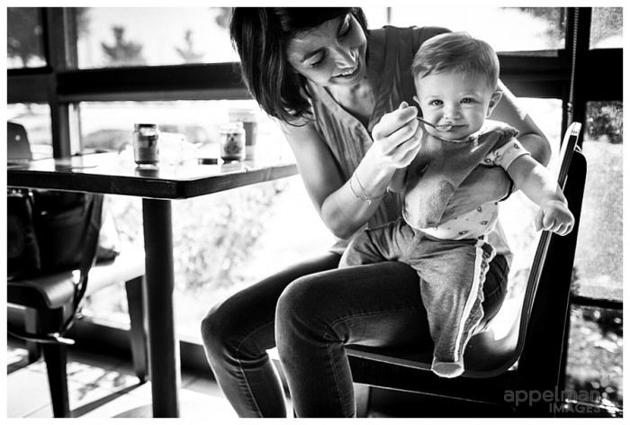 People you Meet baby and mama at Starbucks by Naperville Lifestyle Photographer.jpg 185-365 2014