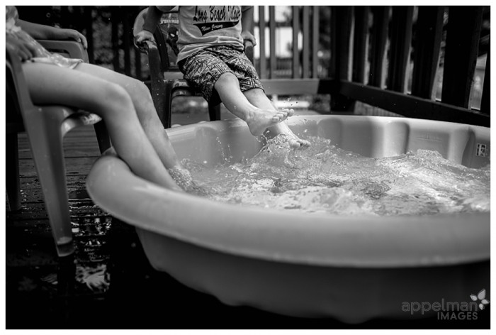 Foot Soak naperville Family photographer 202-365 2014