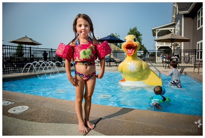 Swimming at the Ducky pool naperville oswego family photographer for kids 213-365 2014