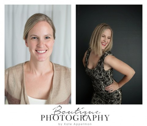 Glamour Portraits lighting test before and After Naperville Photographer 258-365 2014