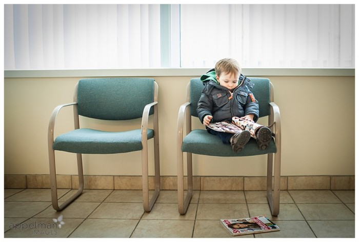 On Location Photojournalistic child portraits in Naperville and bolingbrook studio waiting room 56-365 2014