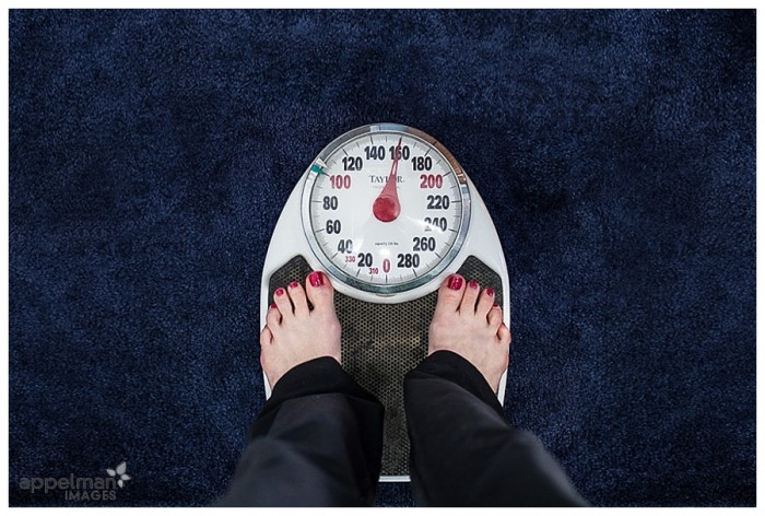 Honest Storytelling Family Naperville photography professional candid weight scale camera adds 10 pounds 79-365 2014