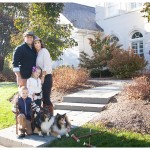 Beautiful family at home in Naperville for Lifestyle portrait session