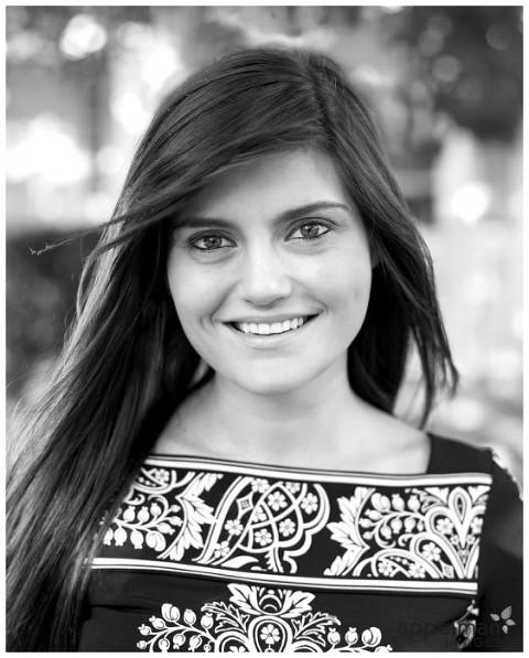 Naperville Acting Heashot outdoors woman actress