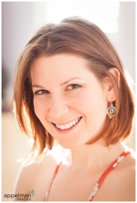 Professional Headshots Naperville Yoga Teacher