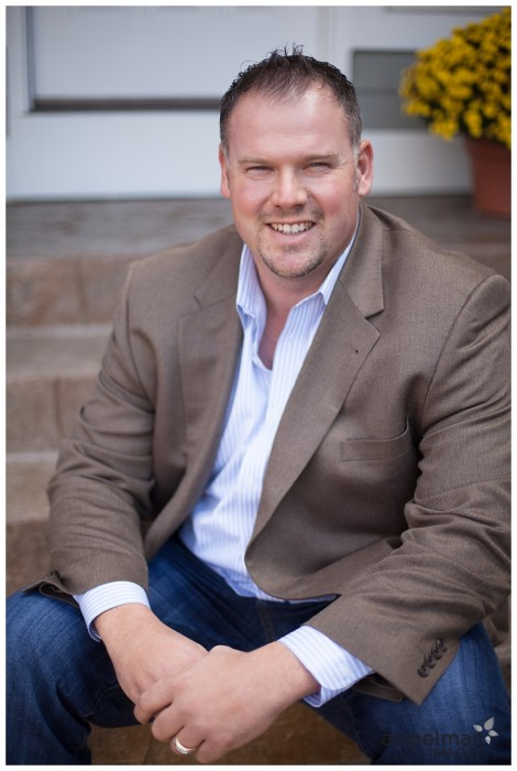 Professional Relaxed Business portrait in Naperville