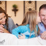 White Eagle Family Photographer in Naperville charming and fun picture of family of three