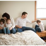 Fabulous lifestyle photo of family by Naperville Family Photographer
