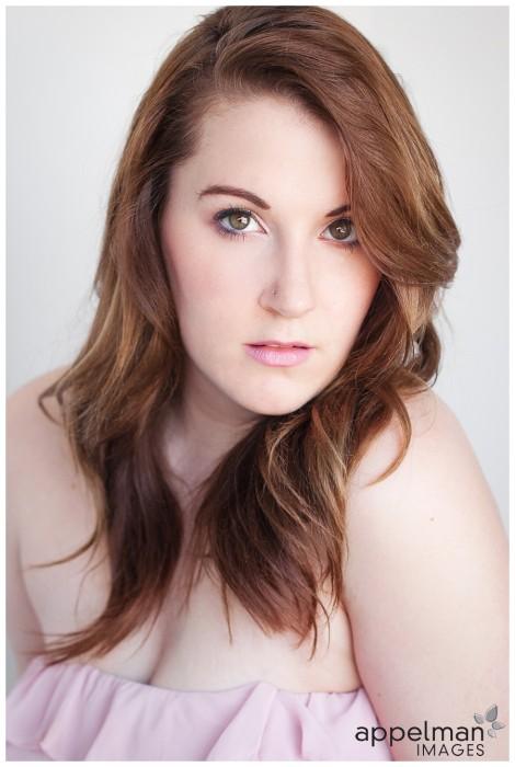 Naperville beauty Headshot Photographer for Actors