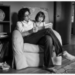 Story time with Mama and her little girl by Family Photographer in Naperville