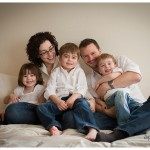 natural light at home for a portrait by Naperville Family Photographer