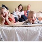 Happy family lifestyle photographer natural light oswego