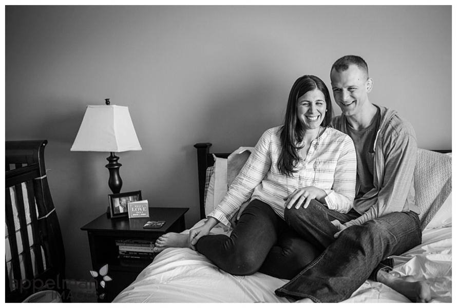 Oswego family photographer laughing couple lifestyle