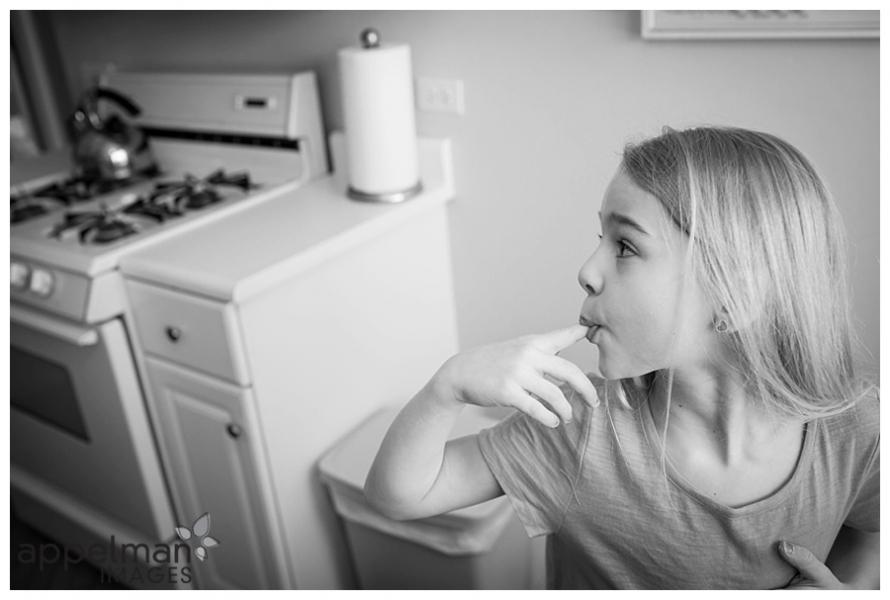 taste testing child in home kitchen naperville lifestyle