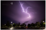 Lightning in summer purple storm naperville photographer appelman images photography nature night