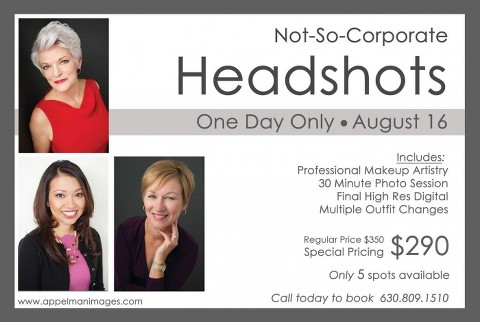 Not So Corporate Headshots - Naperville Photographer