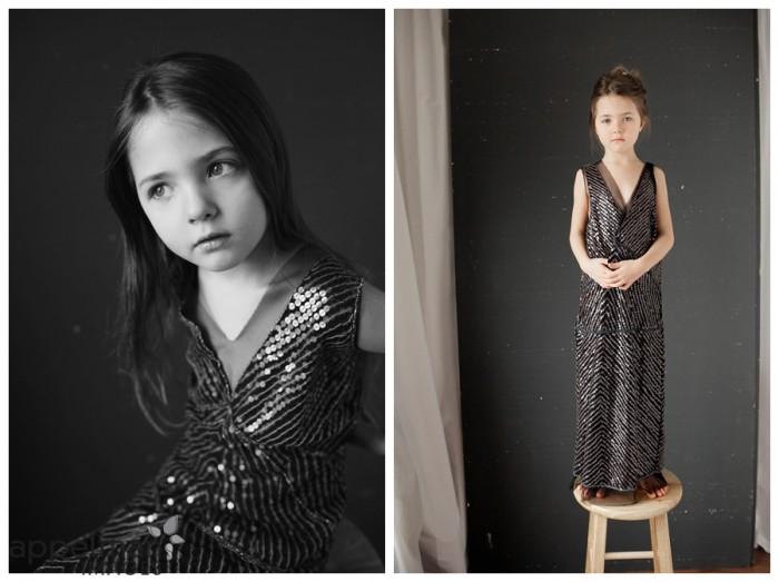 child model naperville studio little model